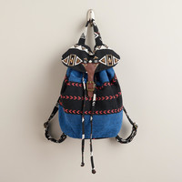 Blue Tribal Backpack - World Market
