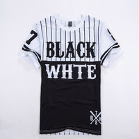 Baseball Fan Men's Casual Short Sleeved T-shirt [10312516035]