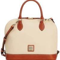Dooney & Bourke Pebble Zip Top Satchel | macys.com