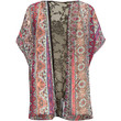 H.I.P. Boho Print Girls Kimono Berry  In Sizes