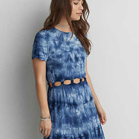AEO Soft & Sexy Cutout Dress, Blue