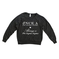 Once...Always Triblend Raglan