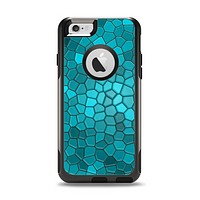 The Abstract Blue Tiled Apple iPhone 6 Otterbox Commuter Case Skin Set