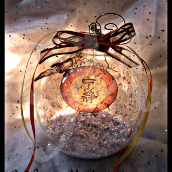 Limited Edition Firefly Serenity Jumbo Glass Christmas Ornament