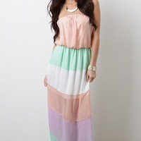 Gelato Tart Maxi Dress