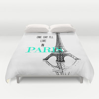 One Day Duvet Cover by Veronica Ventress