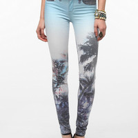 Urban Outfitters - SOLD Design Lab Tropical Soho Skinny Jean