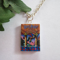 Harry Potter Book Necklace (US Editions)