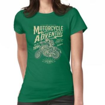 'MOTORCYCLE ADVENTURE' T-Shirt by Super3
