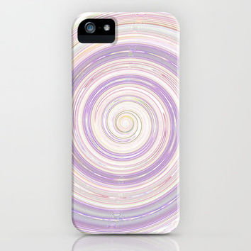 Re-Created Spin Painting No. 3 iPhone & iPod Case by Robert Lee