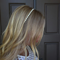 Beads & Pearl Headband