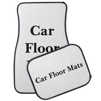Personalized Car Floor Mats