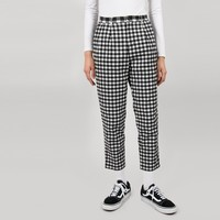 Aymmy in the Batty Girls Geek Check Trousers