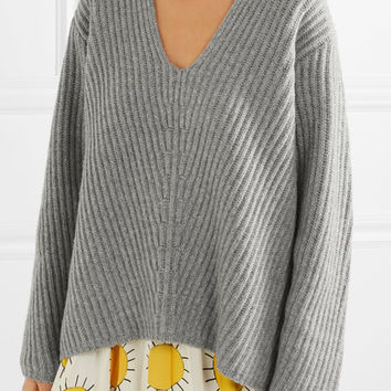 Acne Studios - Deborah oversized ribbed wool sweater