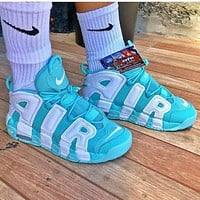Nike Air More Uptempo Men And Women Gym Shoes-5
