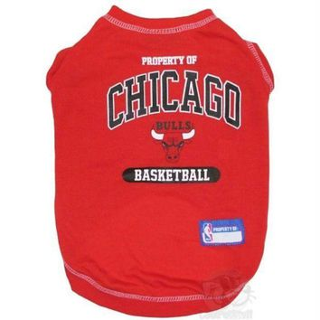 Chenier Chicago Bulls Pet T-Shirt