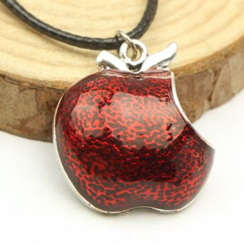 Evil Queen's Apple Necklace