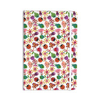 "Jane Smith ""Garden Floral"" Plants Bugs Everything Notebook"