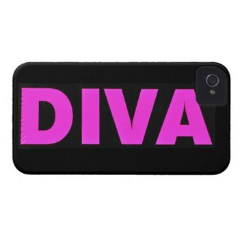 Diva iPhone 4 Barely There Universal Case