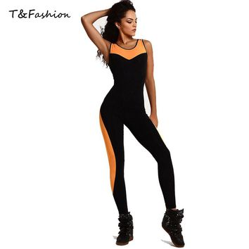 Tofashion Jumpsuit Overalls Be Bodycon Bodysuit Fitness Rompers Womens Jumpsuit Femme Sexy Overalls For Women Playsuit