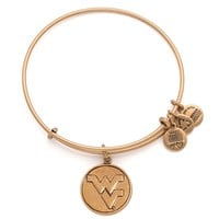 West Virginia University® Logo Charm Bangle
