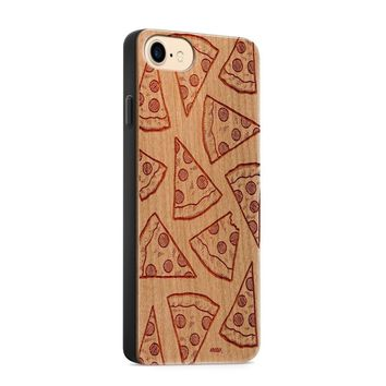 Wood  - Pizza Phone Case