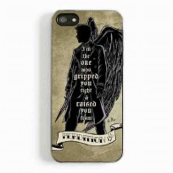 Perdition Castiel Supernatural for iphone 5 and 5c case