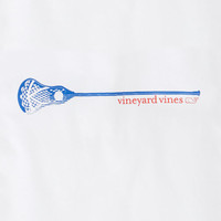 Long-Sleeve Lacrosse Stick Graphic T-Shirt