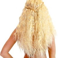 Game Of Thrones Khaleesi Daenerys Targaryen Warrior Princess Costume Wig   Game Of Thrones   | Tv Store Online