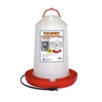 Farm Innovators Heated Poultry Fount, 3 gal.