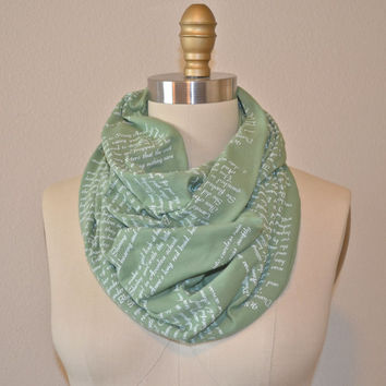 Anne of Green Gables Book Scarf Limited Edition