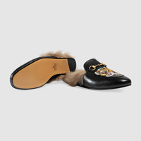 Gucci Princetown slipper with tiger