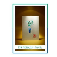 "Feng-shui Chi Protector for East ""Fa-Hu""- Original Acrylic Painting, Acrylic Painting on Paper, Feng-shui friendly, Free Delivery"