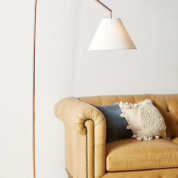 willa arc floor lamp