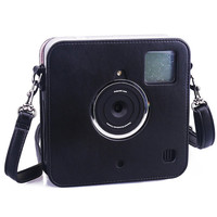 Polaroid SocialMatic Camera Bag Leather Instant Digital Camera Case
