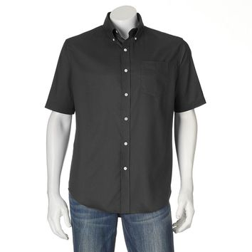 Croft & Barrow Solid Button-Down Shirt