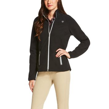 Ariat Ladies Vivid Softshell Jacket - Black