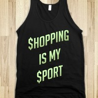 SHOPPING IS MY SPORT