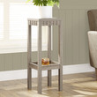 """Dark Taupe Reclaimed-Look 32""""H Plant Stand"""