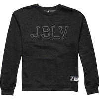 JSLV Outfield Crew Sweatshirt - Men's Charcoal Heather,