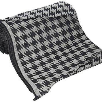 DIDYMOS Woven Wrap Baby Carrier Houndstooth Anthracite (Organic Cotton), Size 8