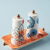Anthropologie Eres Salt & Pepper Shakers with Tray | Nordstrom