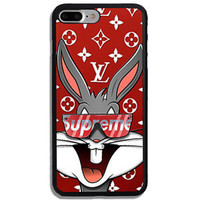 Supreme Looney Toons Bugs Bunny Hard Protect Case For iPhone 6 6s 7 7 Plus Cover
