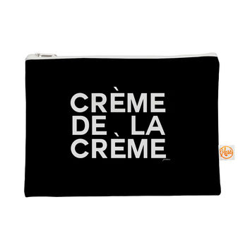 "Geordanna Cordero-Fields ""Creme De La Creme"" Black White Everything Bag"
