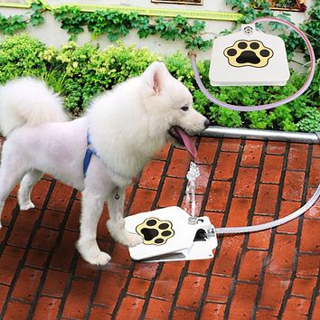 Durable Trouble Free Outdoor Dog Cat Pet Drinking Doggie Water Fountain New Dog Sprinkler