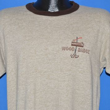 80s Boy Scouts of America Wood Badge t-shirt Large