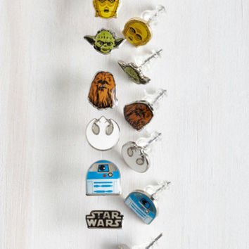Quirky Endorse the Force Earrings Set by ModCloth