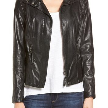 KUT from the Kloth 'Elena' Faux Leather Motocross Jacket | Nordstrom