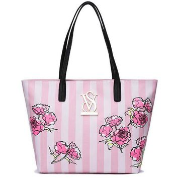 DCCKHI2 Victoria's secret Women Handbag Tote Satchel Shoulder Bag Tagre-