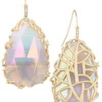 Pat Drop Earrings in Iridescent Agate - Kendra Scott Jewelry